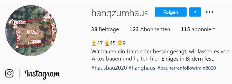 ARTOS HAUS Bautagebuch #hausbau2020 #bauherrenfollowtrain2020