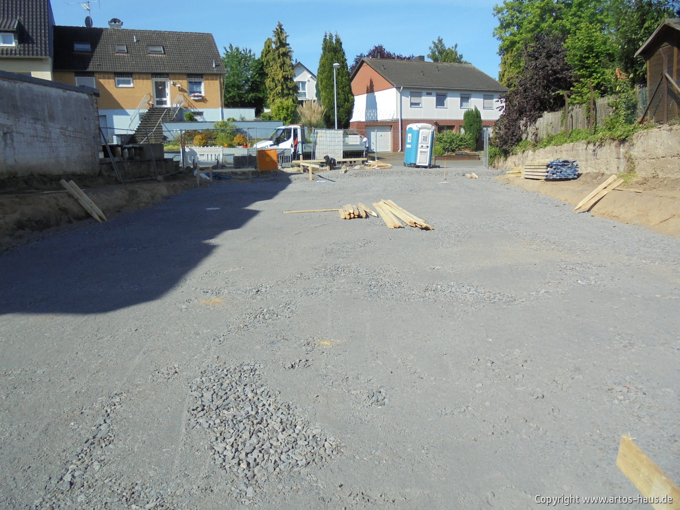 Gründungspolster für Mehrfamilienhaus - www.artos-haus.de Bild 5