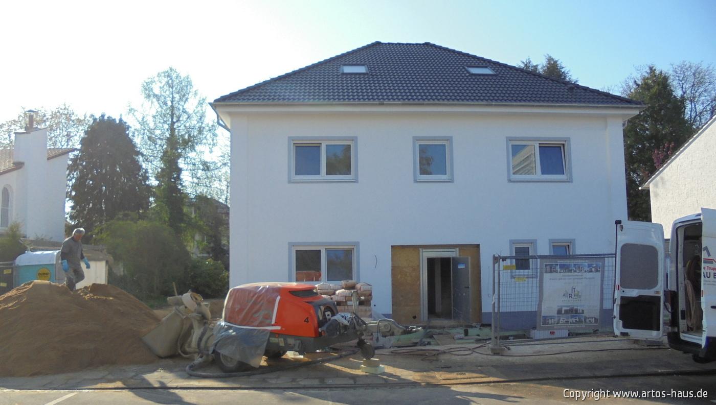 Estricharbeiten / ARTOS-HAUS BV Stadtvilla Bonn