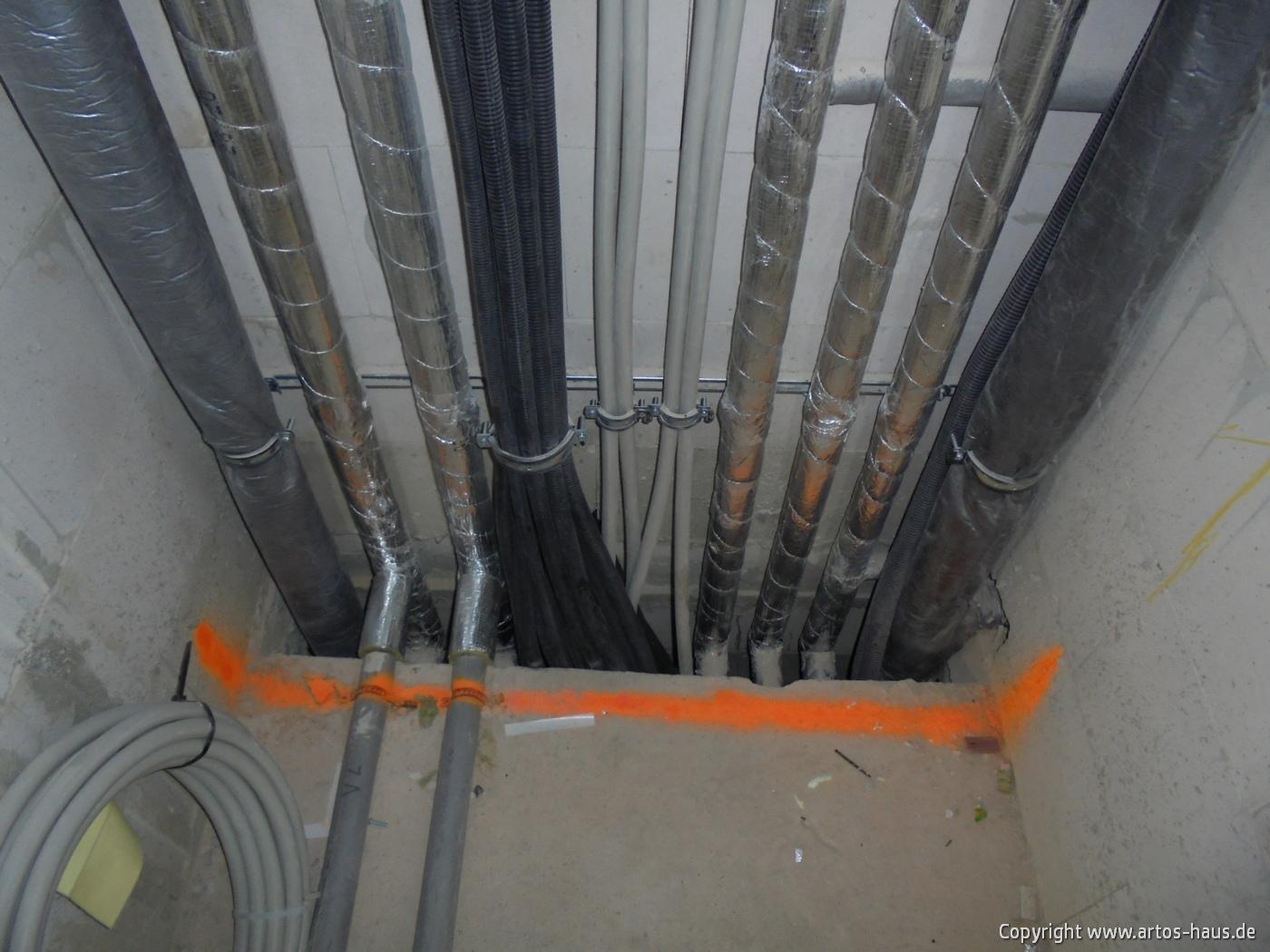 Rohinstallation www.artos-haus.de BILD 5