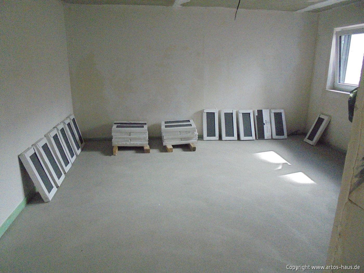 Estricharbeiten | www.artos-haus.de Bild 4