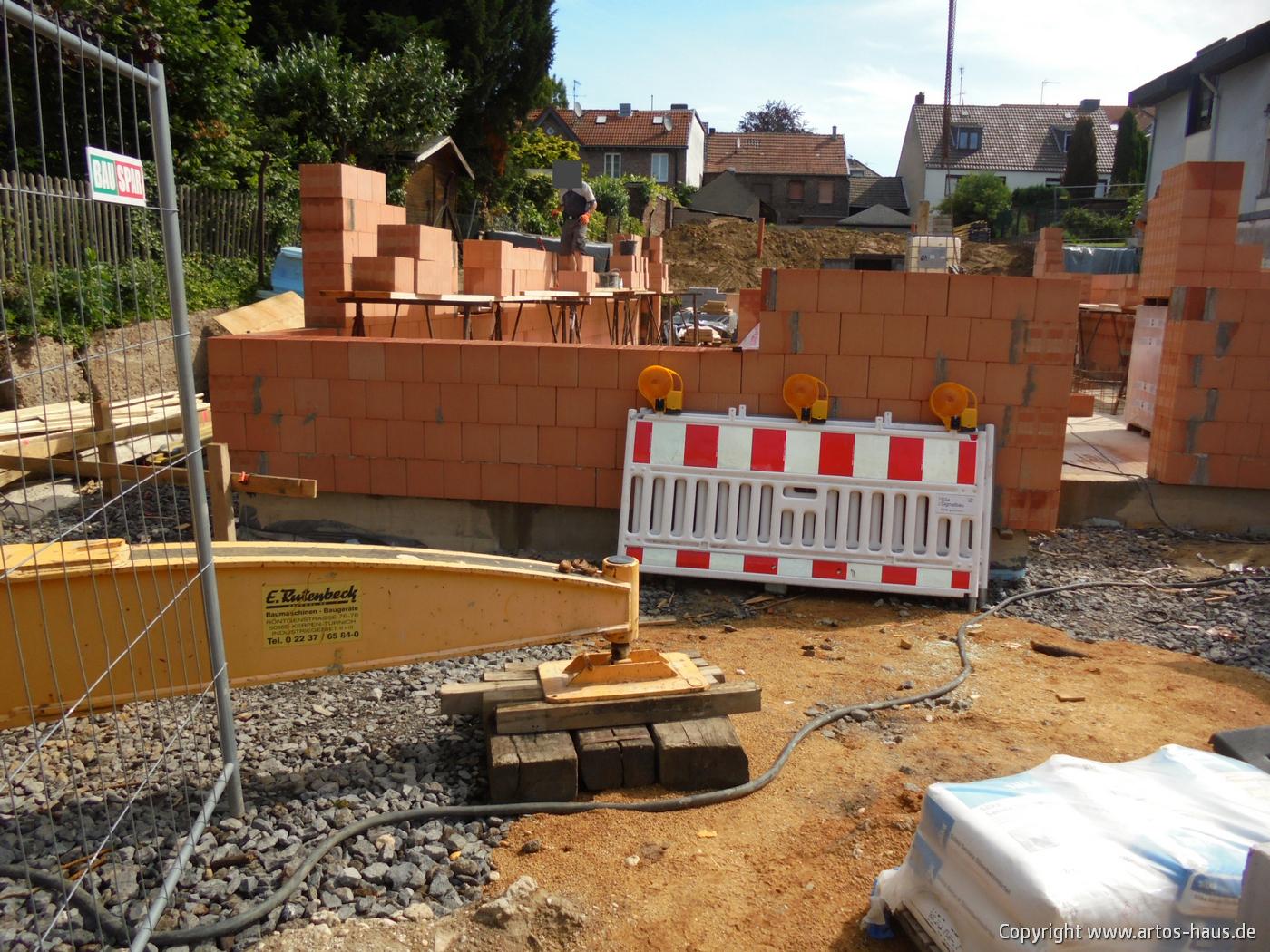 Mauerarbeiten EG Bild 7