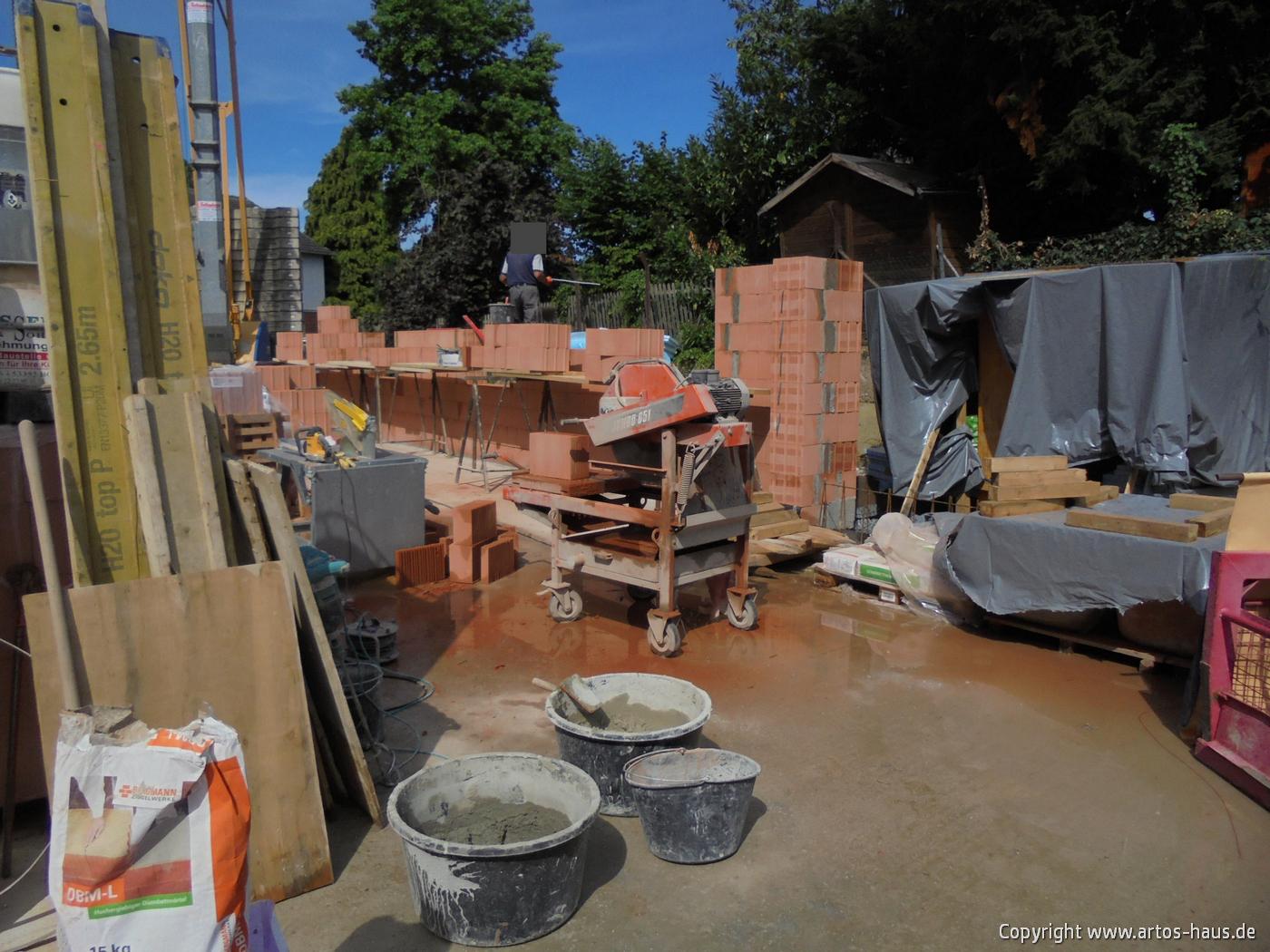 Mauerarbeiten EG Bild 8