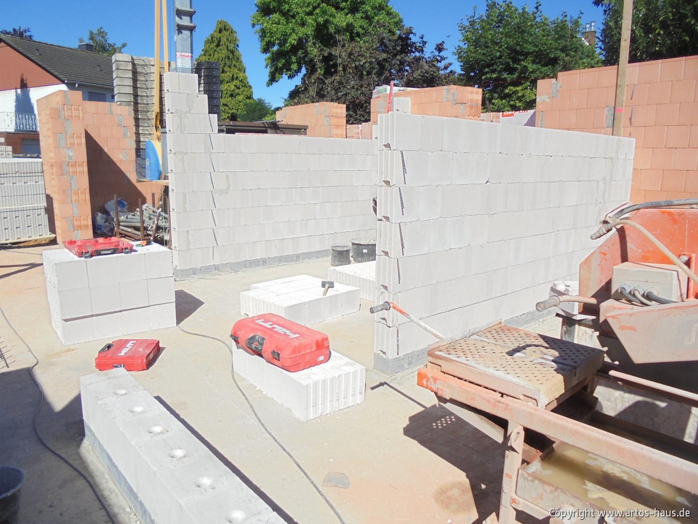 Mauerarbeiten EG Bild 4