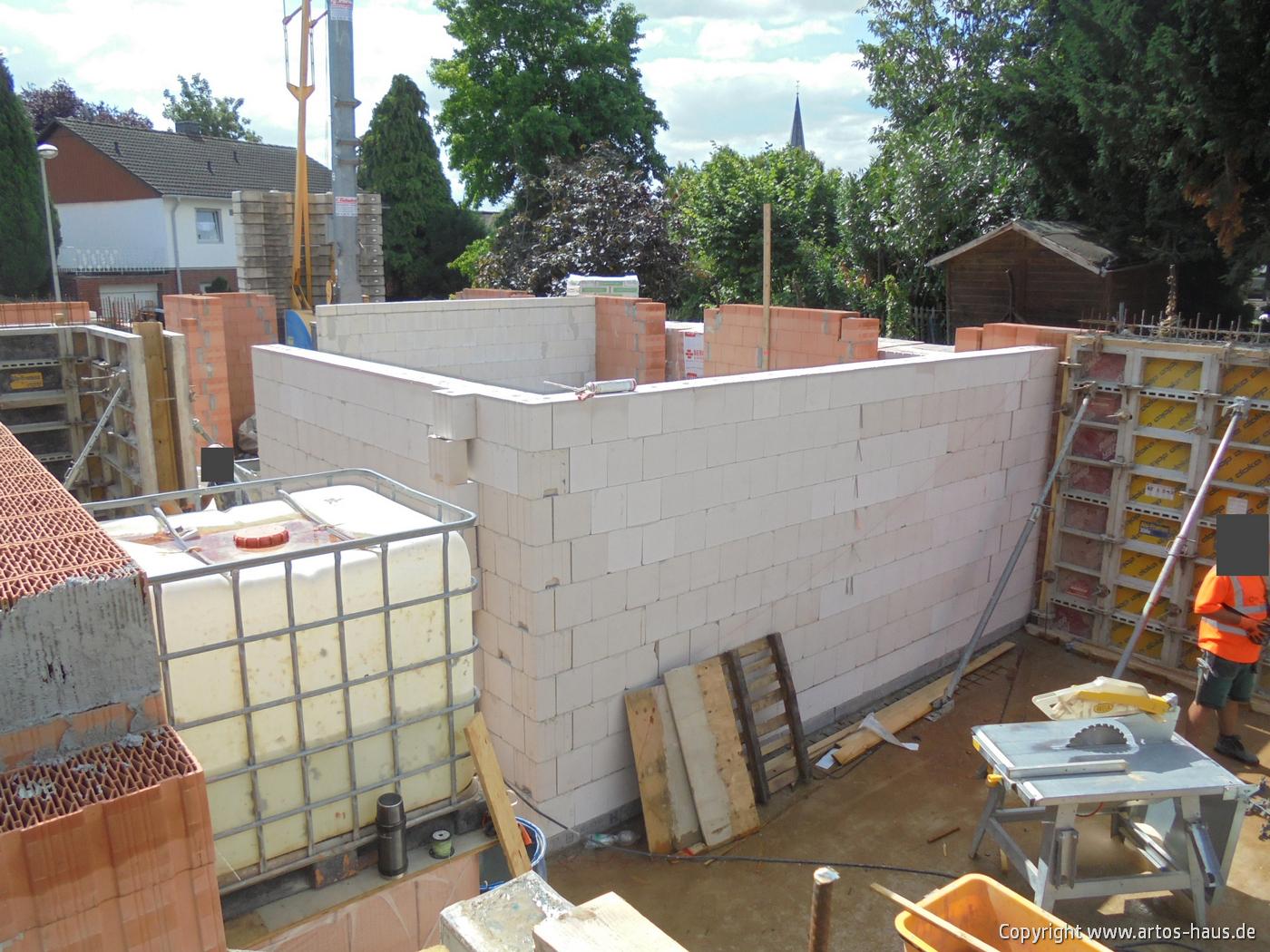 Mauerarbeiten EG Bild 3