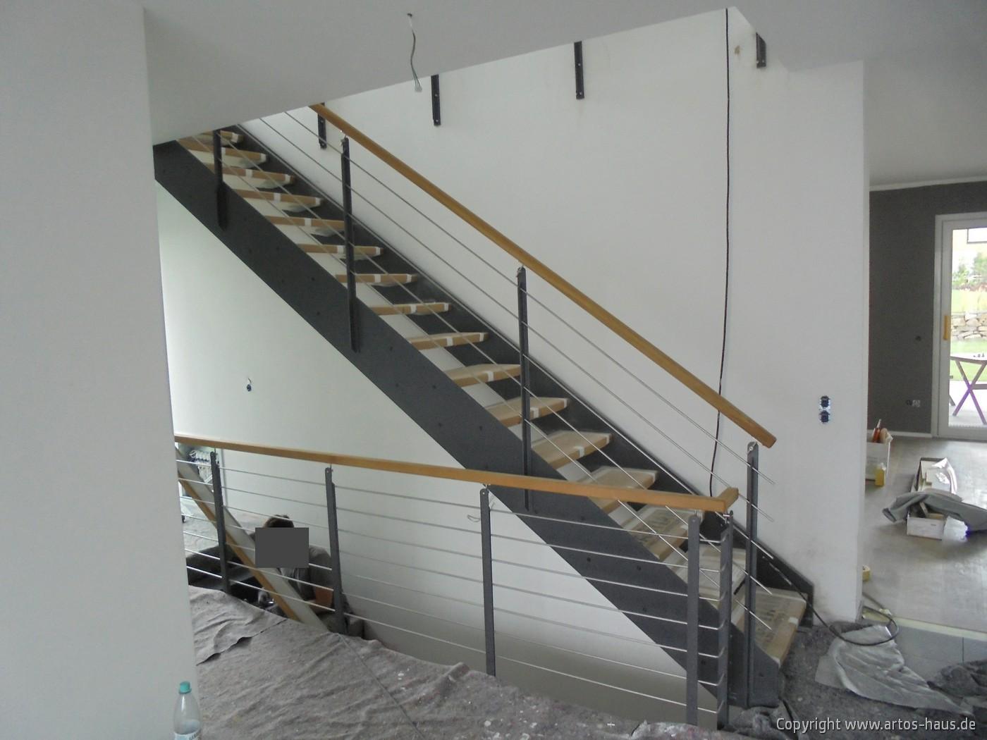 Treppe und Treppengeländer Bild 1