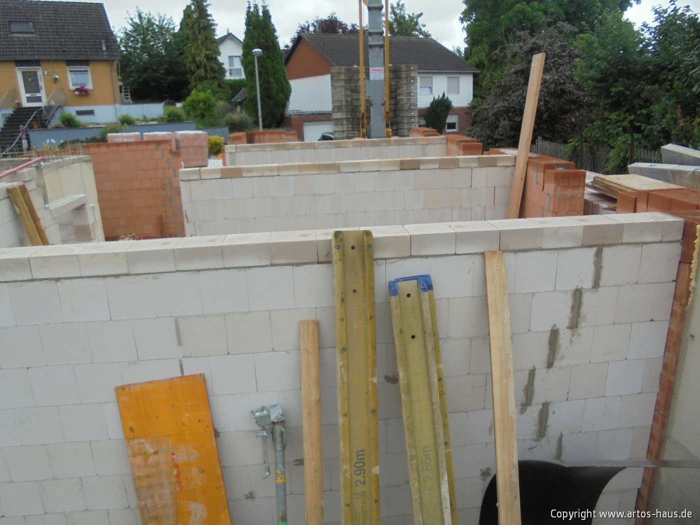 Mauerarbeiten EG Bild 2