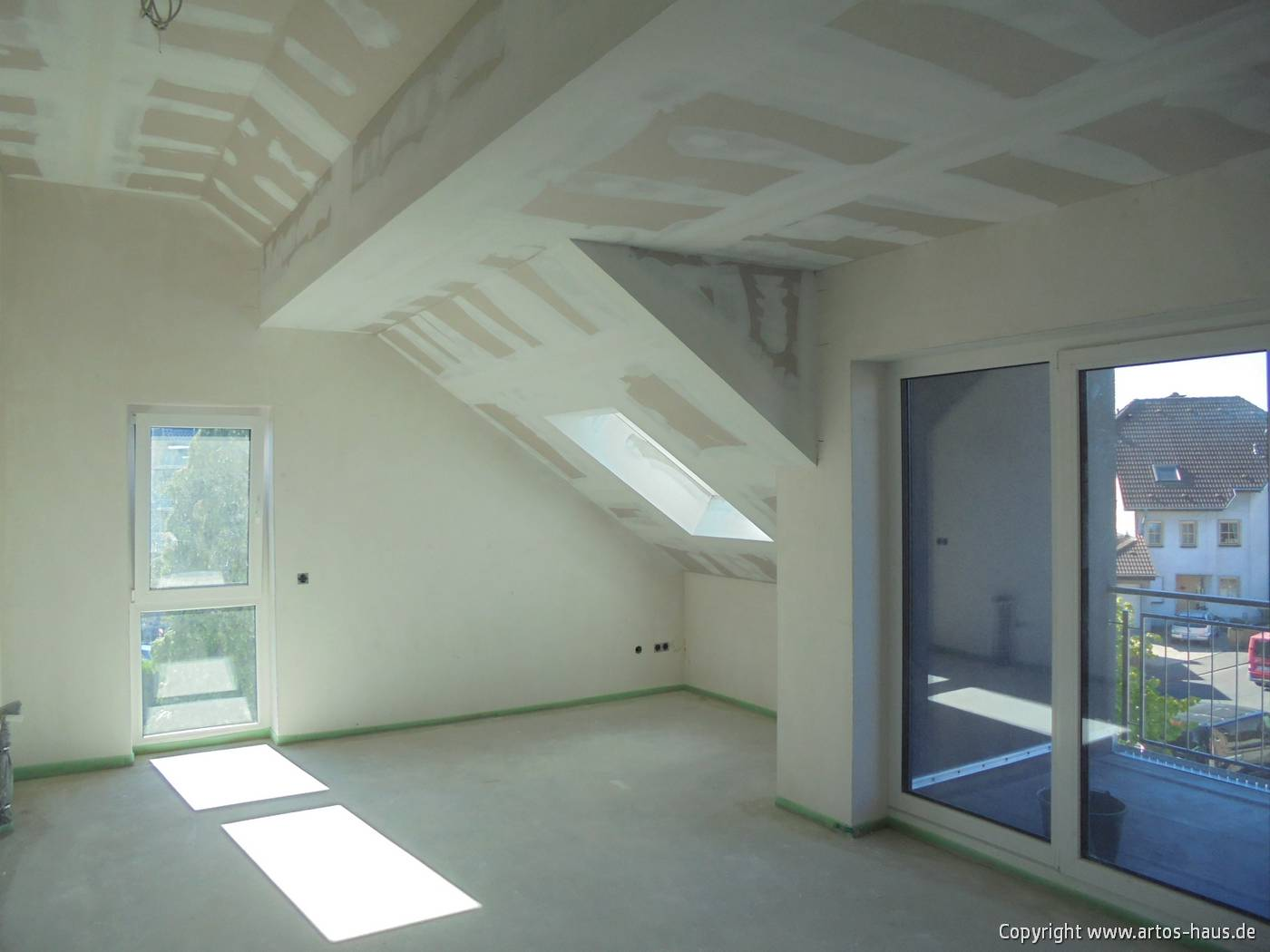 Trockenbauarbeiten Mehrfamilienhaus www.artos-haus.de Bild 5