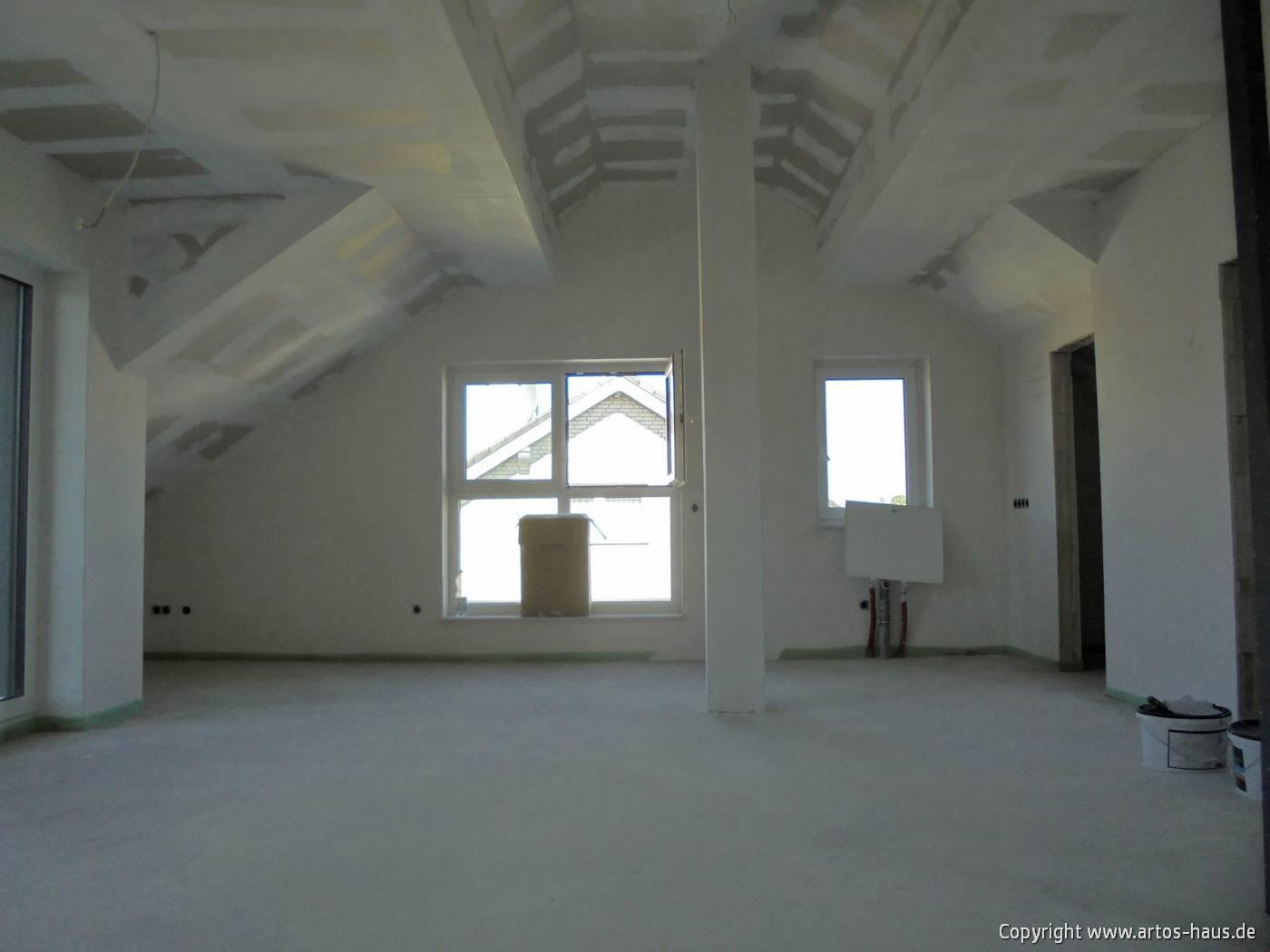 Trockenbauarbeiten Mehrfamilienhaus www.artos-haus.de Bild 6