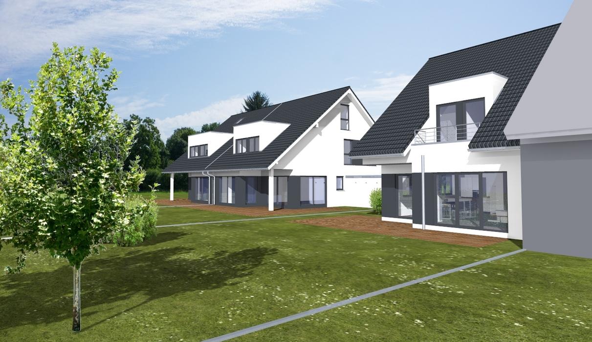 Bauvorhaben 3 Doppelhaushälften in Hürth / www.artos-haus.de Visualisierung Bild 6