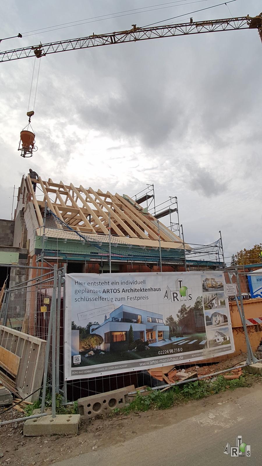 Bauvorhaben Hürth, 3 DHH. Stand Oktober 2020. ARTOS-HAUS www.artos-haus.de Bild 6