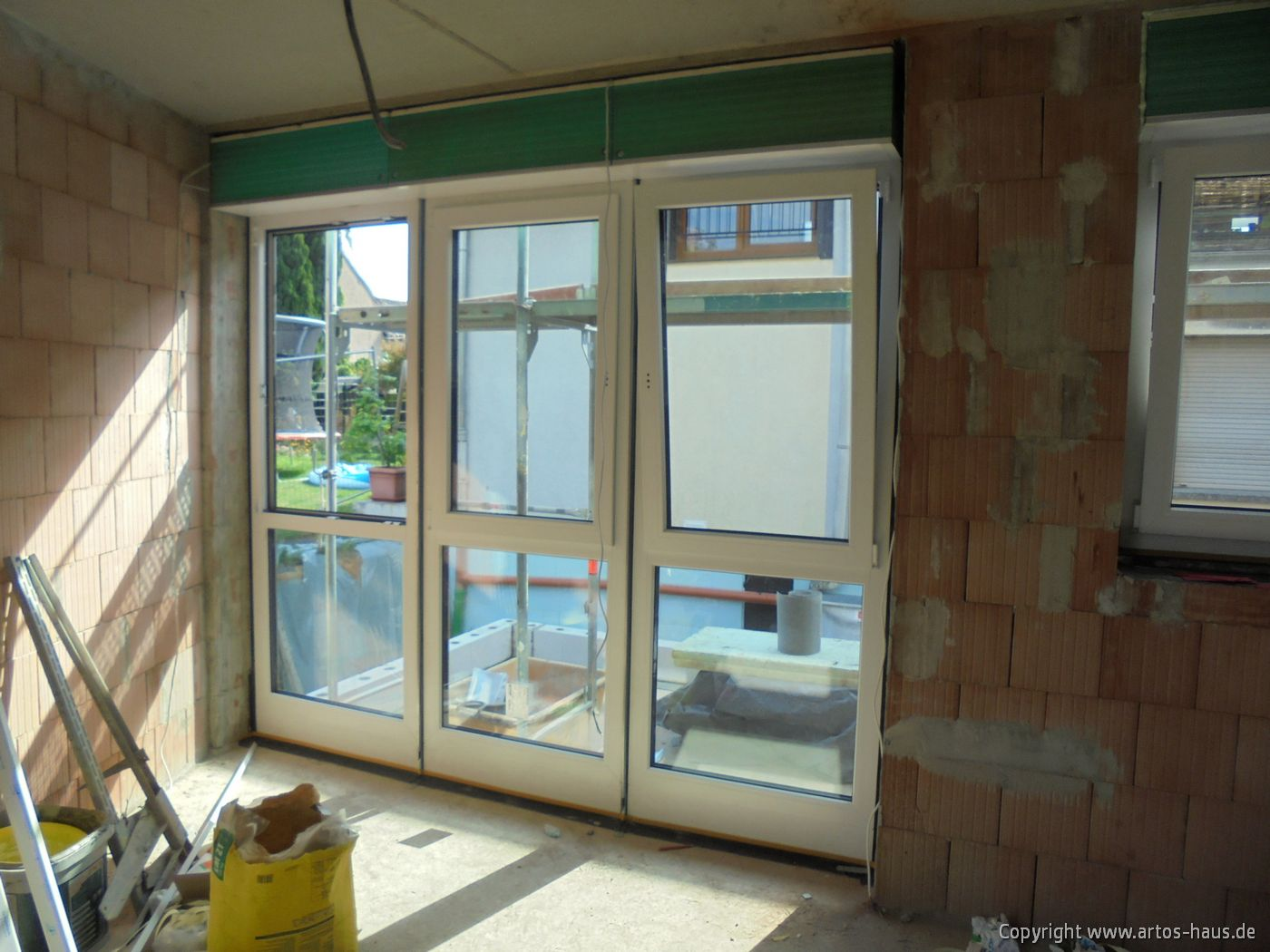 Fenstereinbau MFH Pulheim / ARTOS-HAUS Bild 5