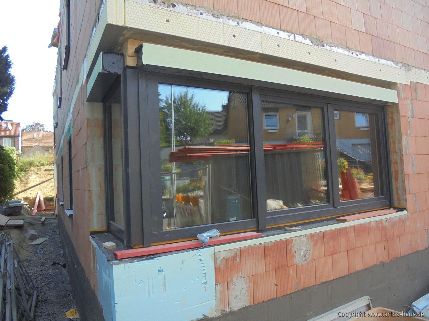 Fenstereinbau MFH Pulheim / ARTOS-HAUS Bild 1