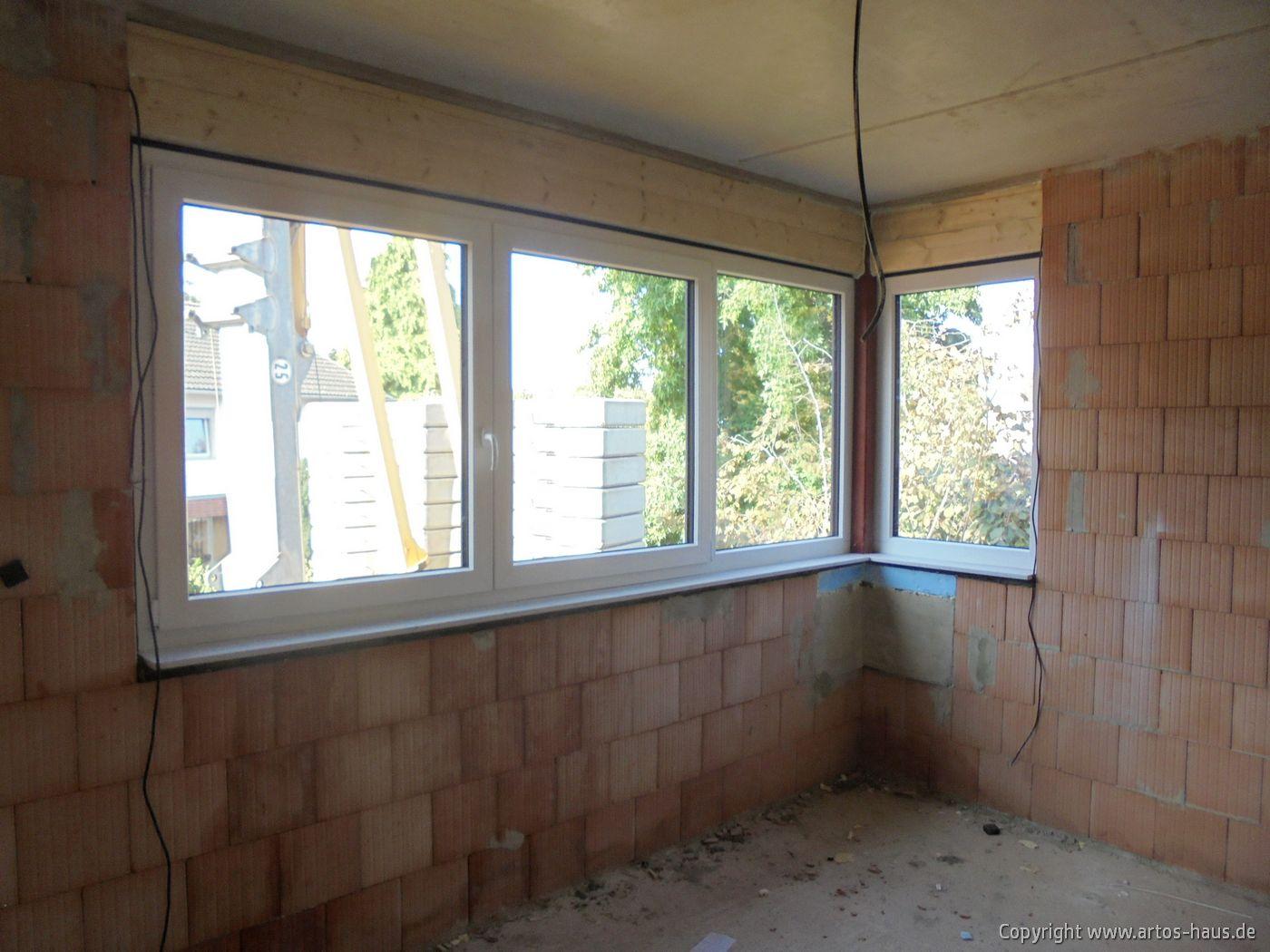 Fenstereinbau MFH Pulheim / ARTOS-HAUS Bild 2