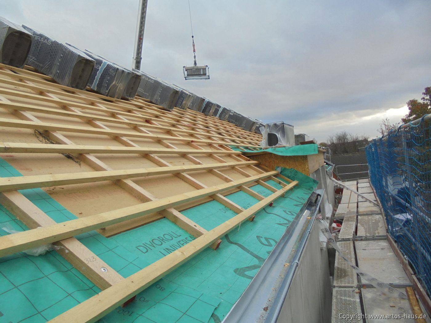 Dachdeckerarbeiten in Pulheim / ARTOS-HAUS Foto 1
