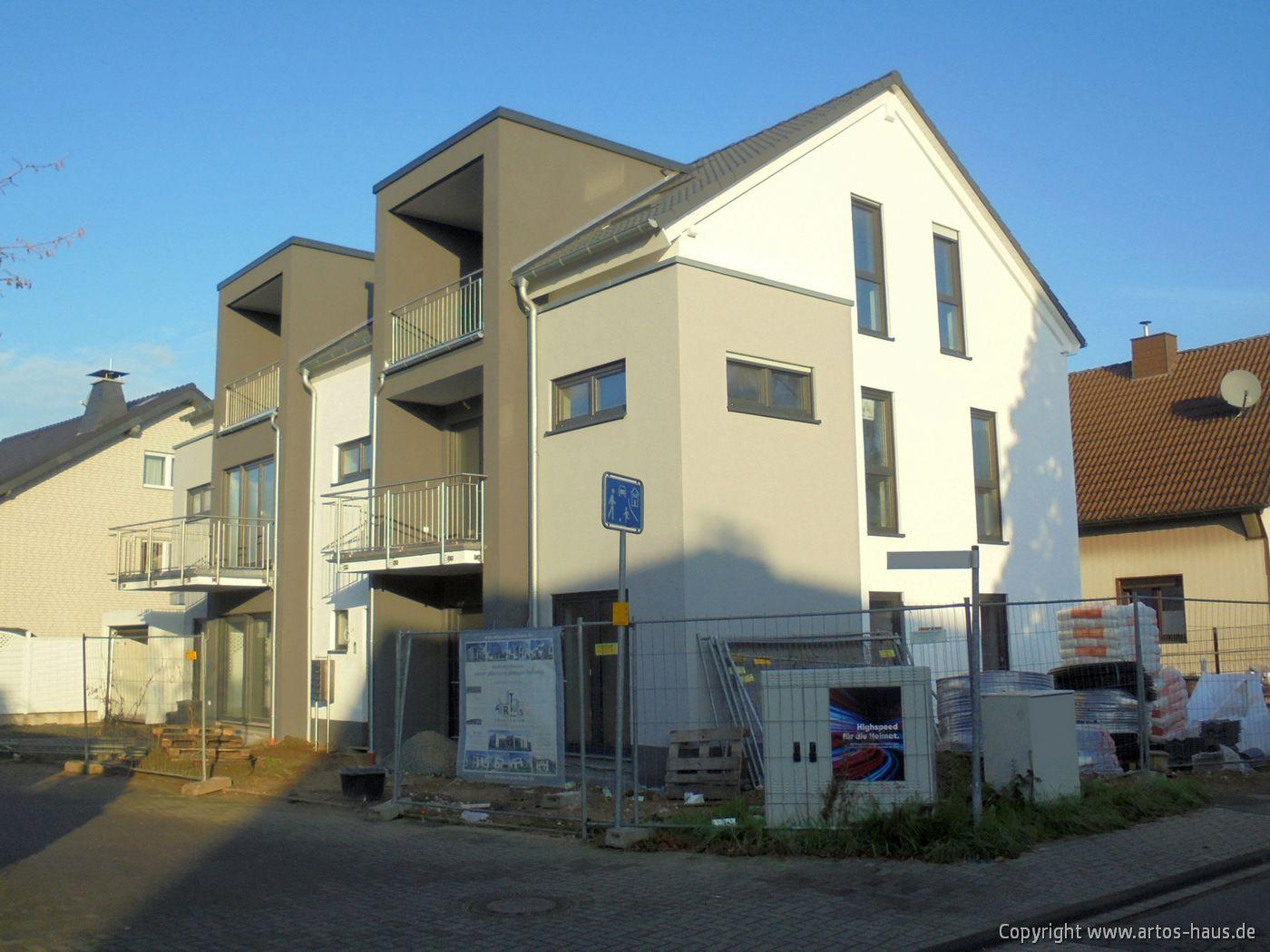 Mehrfamilienhaus in Pulheim. 2020 massiv gebaut von ARTOS HAUS, Bild 1