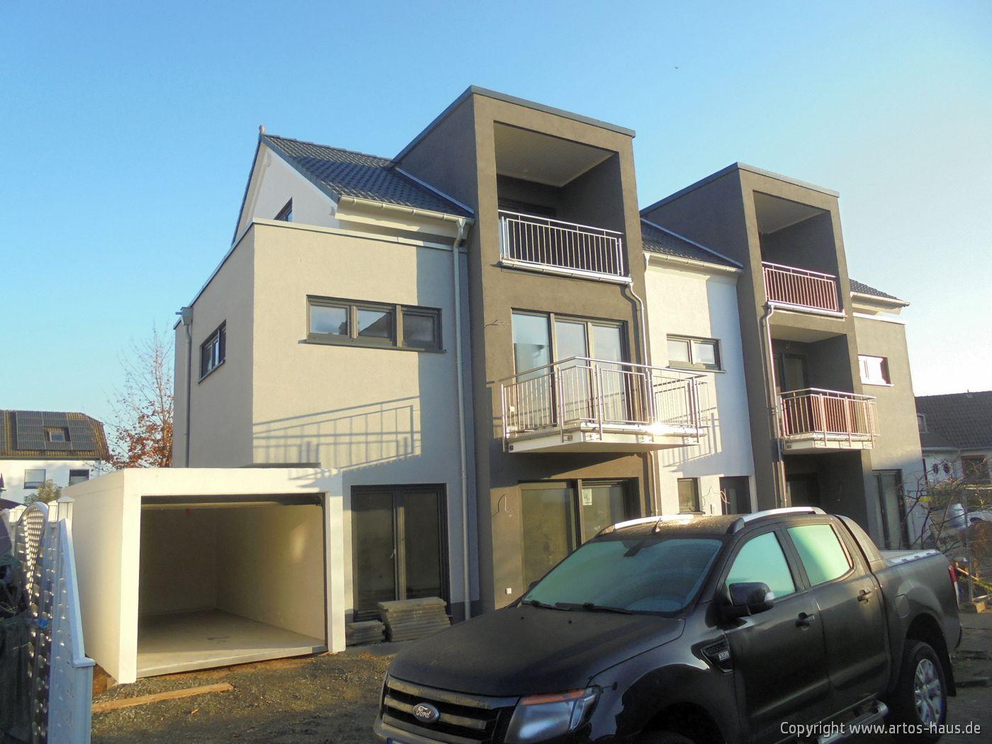 Mehrfamilienhaus in Pulheim. 2020 massiv gebaut von ARTOS HAUS, Bild 2