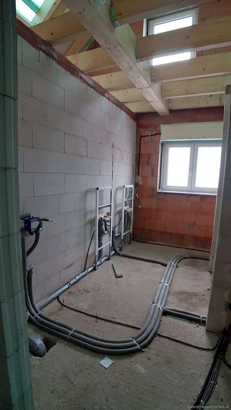 Rohinstallation ARTOS HAUS Bauvorhaben Hürth Bild 1