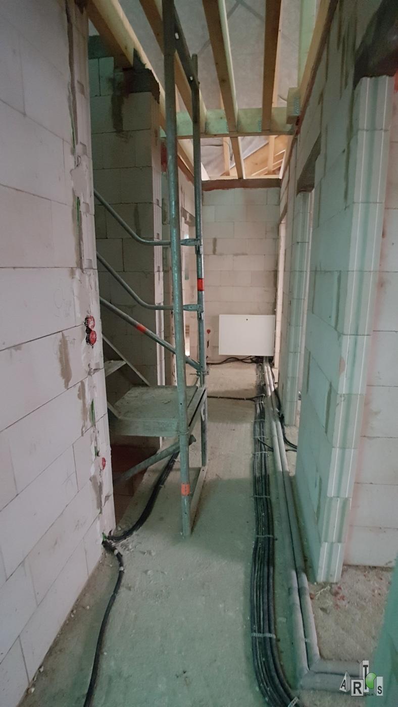Rohinstallation ARTOS HAUS Bauvorhaben Hürth Bild 5