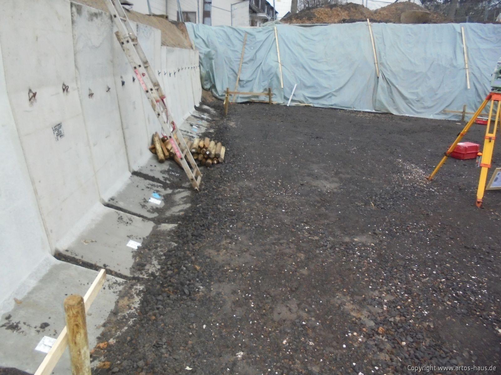 Erdarbeiten für Kellergeschoß fertiggestellt / ARTOS-HAUS Bild 3