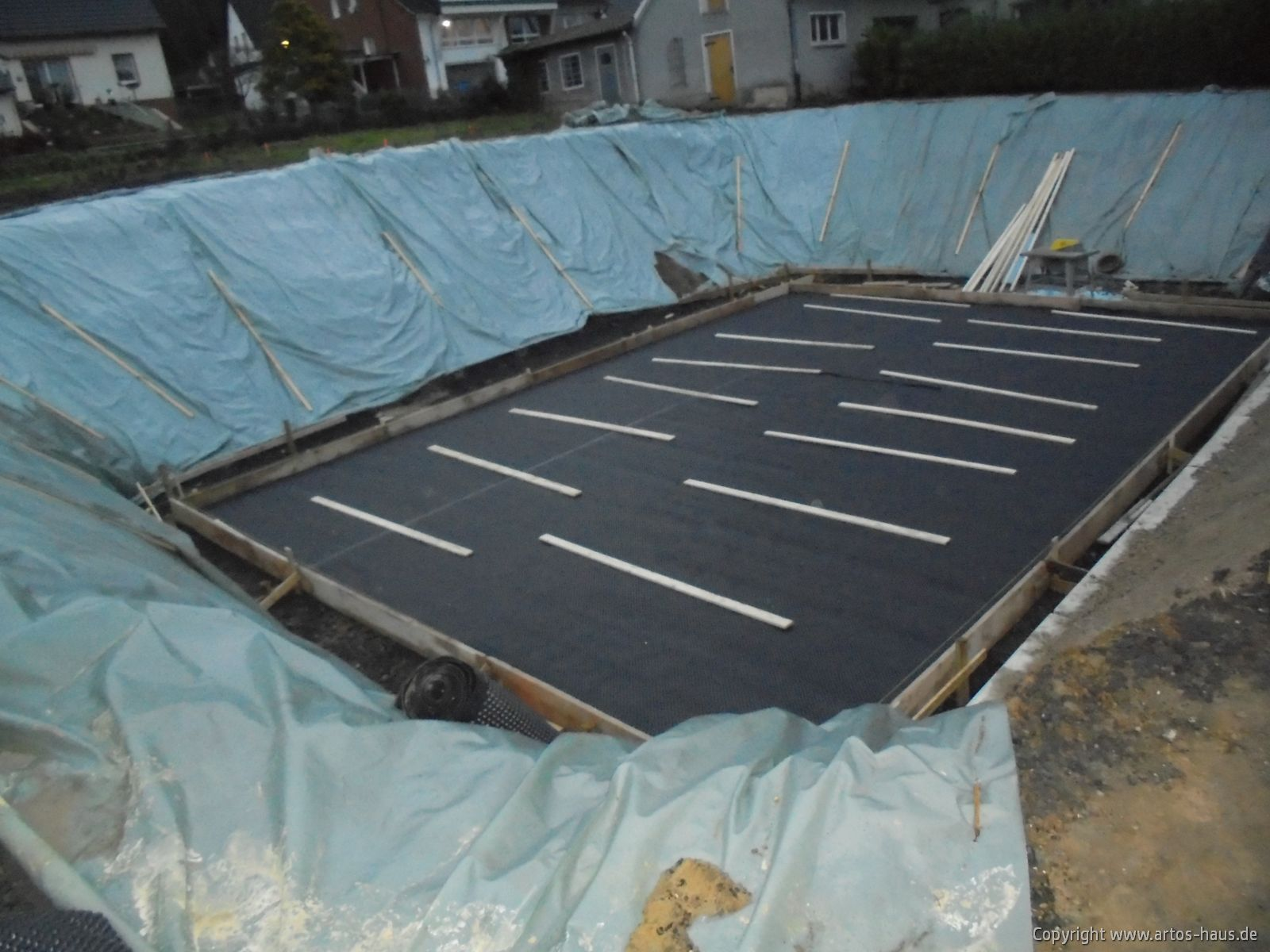 Bodenplatte Kellergeschoß Bild 1
