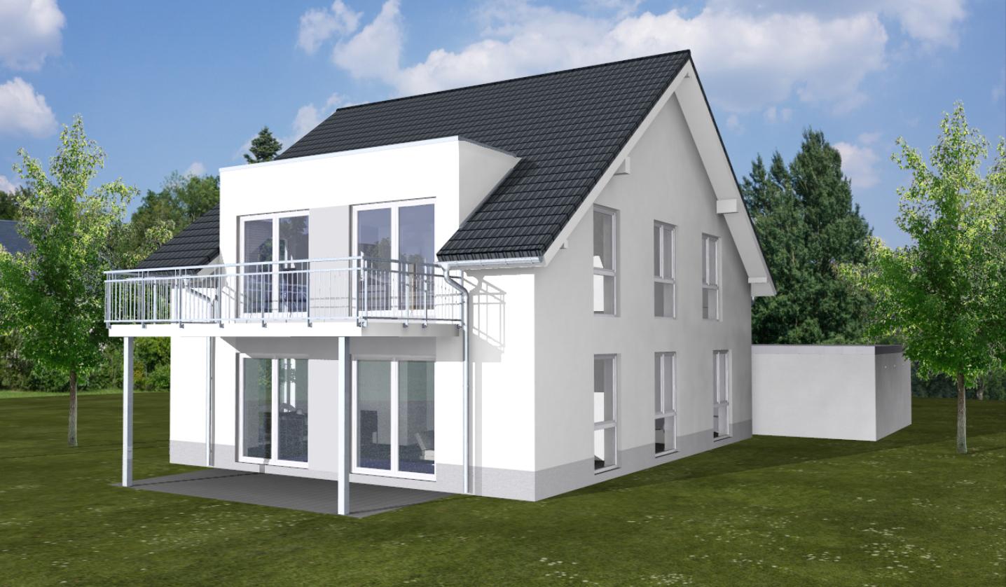 Zweifamilienhaus, Bauvorhaben in Bonn Bad Godesberg. Massiv gebaut von ARTOS HAUS Bild 3
