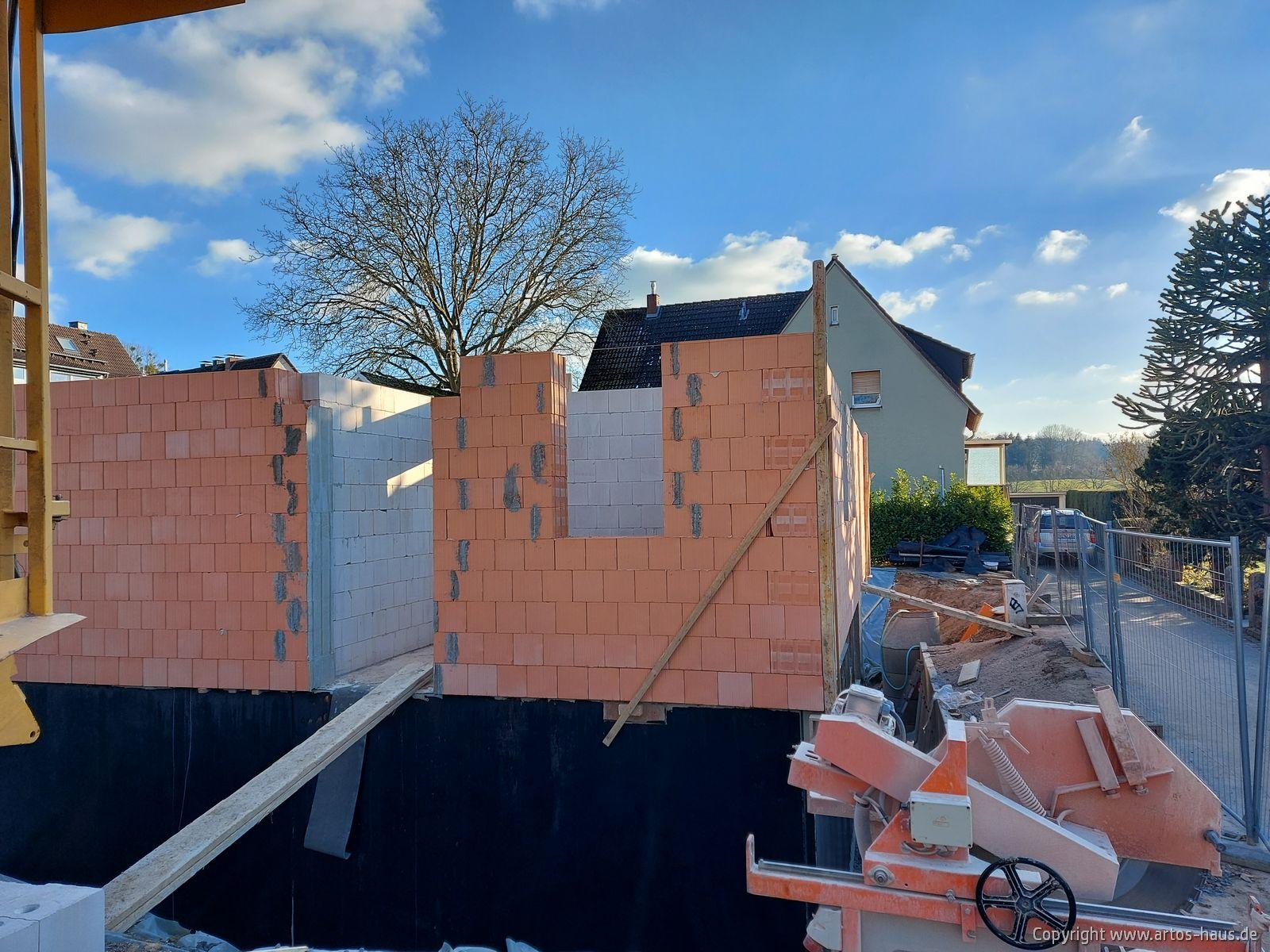 Rohbau Erdgeschoß, ARTOS-HAUS Bild 2