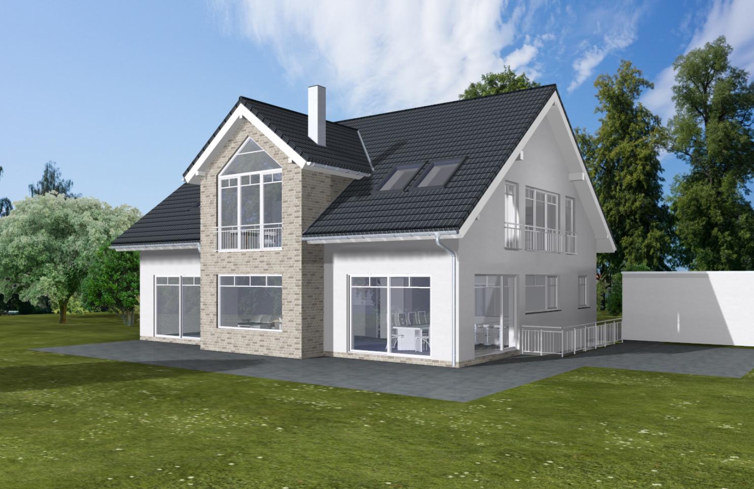 ARTOS HAUS Bauvorhaben Bonn-Ückesdorf, Einfamilienhaus Individuell geplant und gebaut 2021. Bild 3