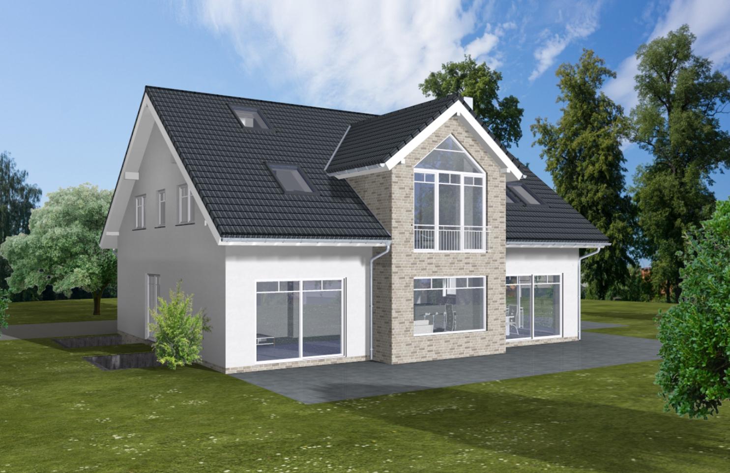ARTOS HAUS Bauvorhaben Bonn-Ückesdorf, Einfamilienhaus Individuell geplant und gebaut 2021. Bild 2