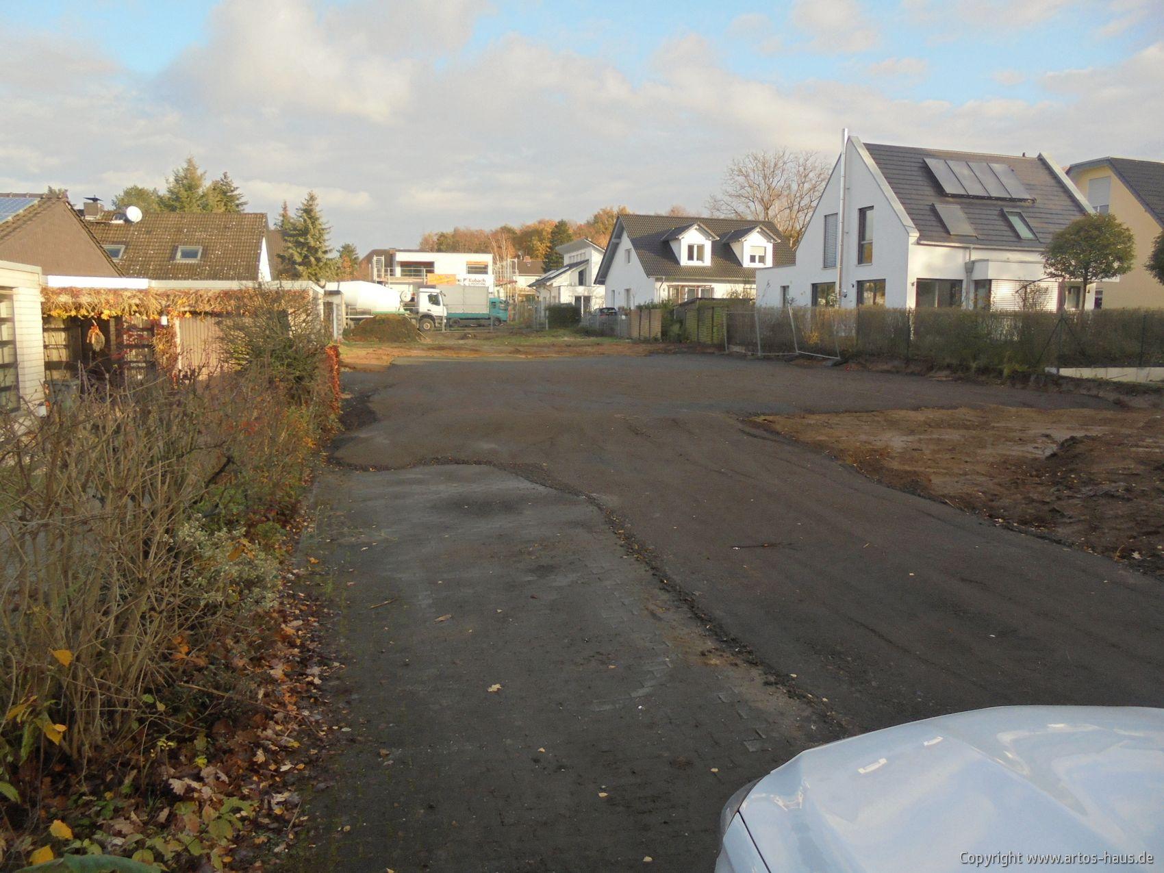 Erdarbeiten ARTOS HAUS, Bauvorhaben EFH mit ELW in Alfter. Bild 3