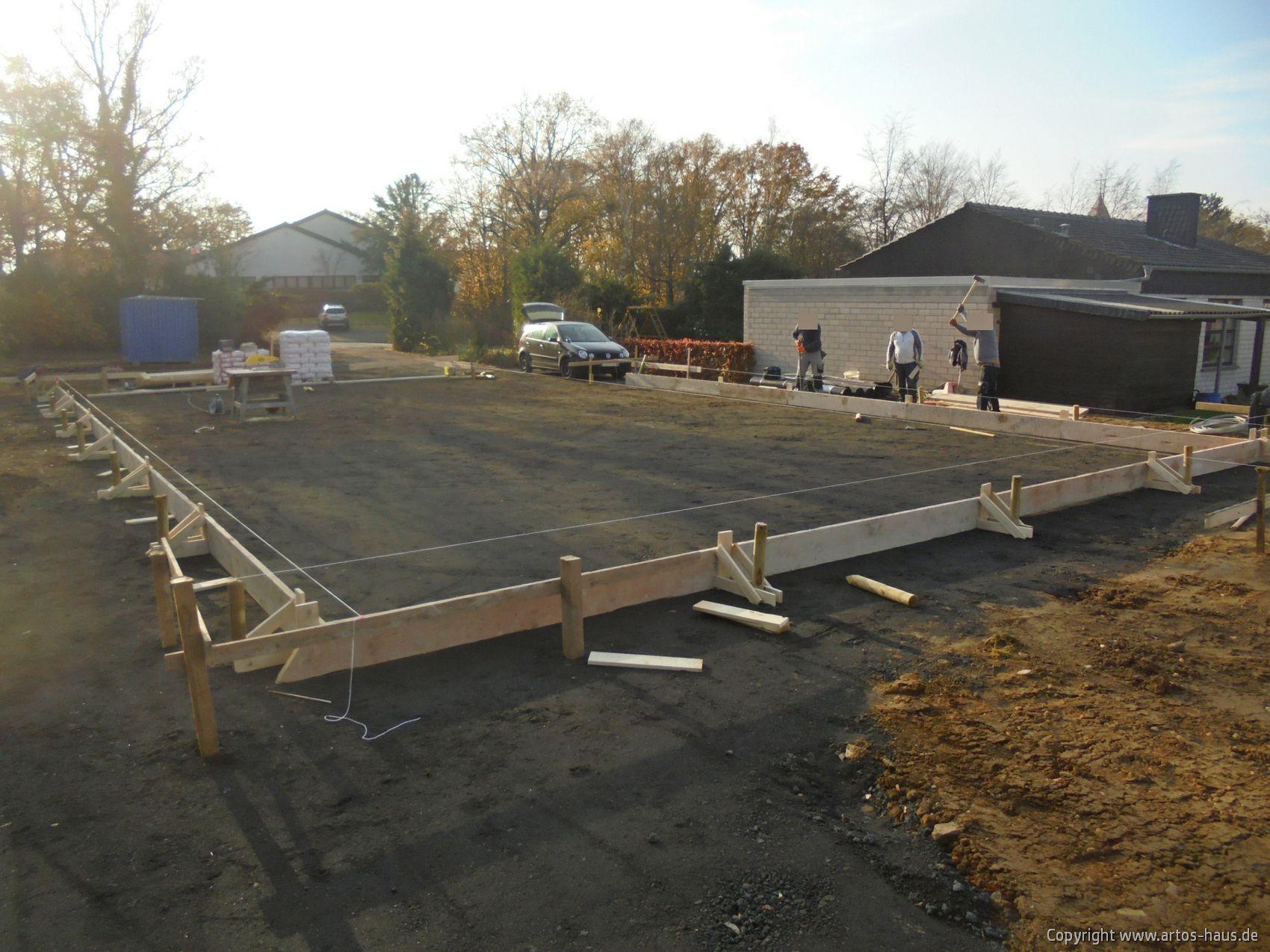Bewehrung Erdarbeiten ARTOS HAUS, Bauvorhaben EFH mit ELW in Alfter. Bild 4