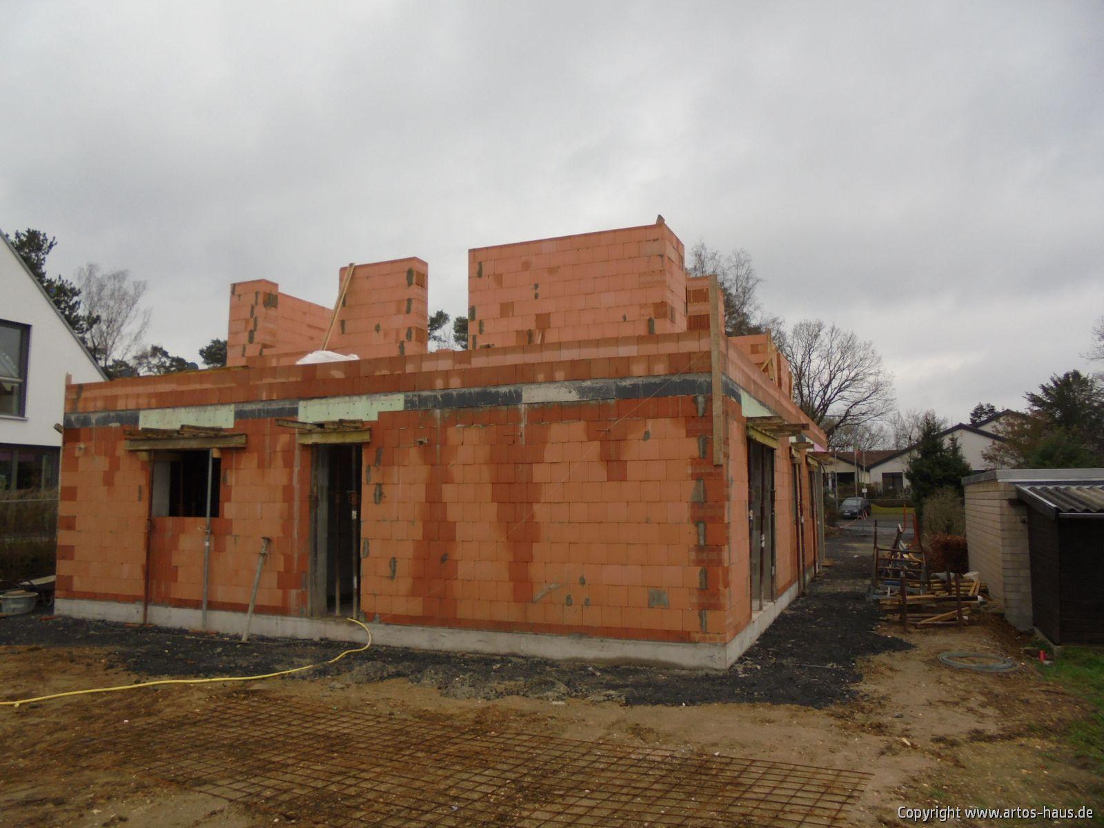 Rohbau der Baustelle in Bonn im Januar 2021 / ARTOS-HAUS Bild 3