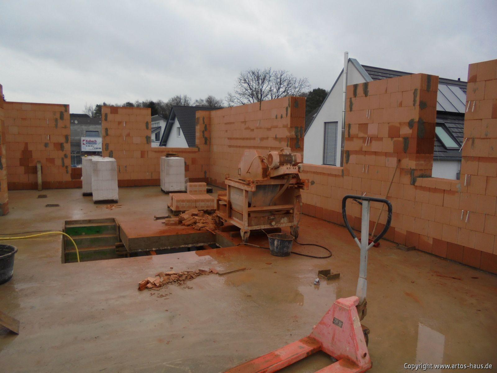 Rohbau der Baustelle in Bonn im Januar 2021 / ARTOS-HAUS Bild 2
