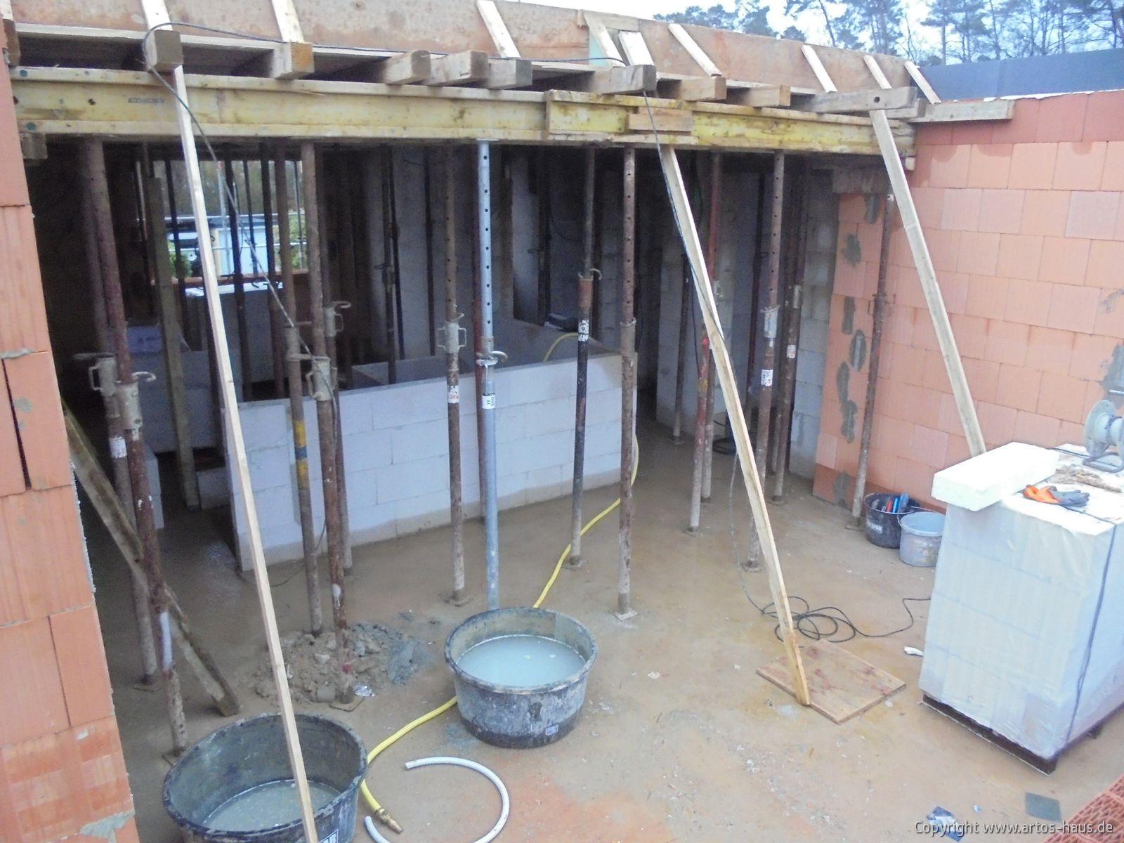 Decke Staffelgeschoß / Bauvorhaben ARTOS-HAUS Bild 2