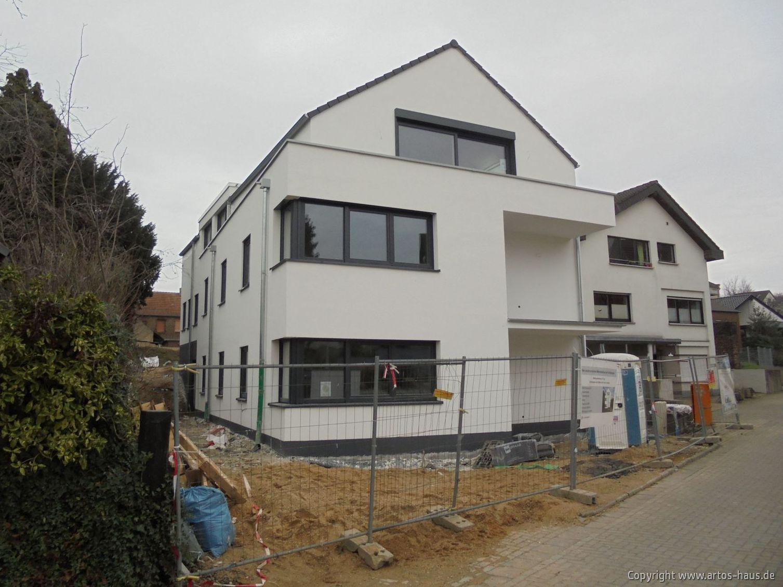 Baustelle Pulheim, Außenputz ARTOS-HAUS Bild 2