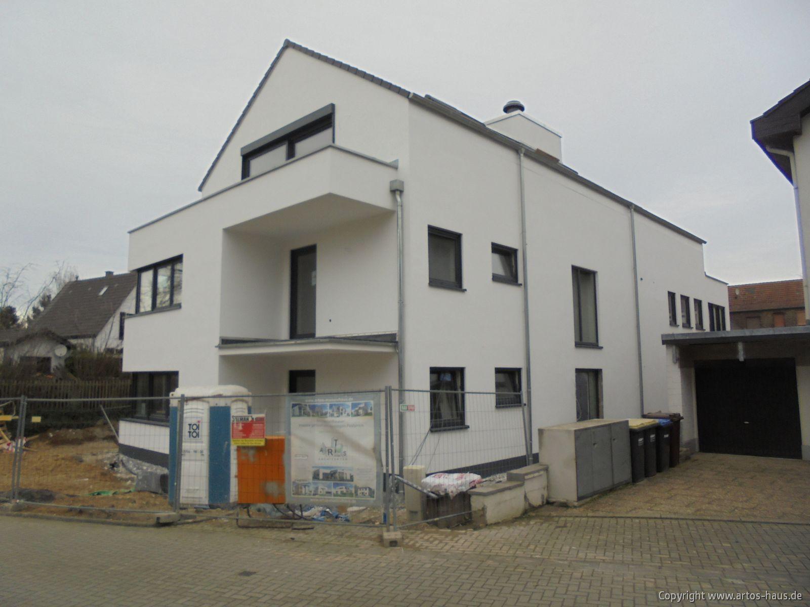 Baustelle Pulheim, Außenputz ARTOS-HAUS Bild 5