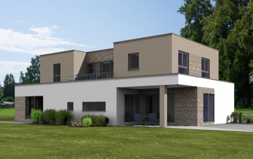 Artos Haus Bauvorhaben 2021 in Alfter. Einfamilienhaus mit Einliegerwohnung und Garage