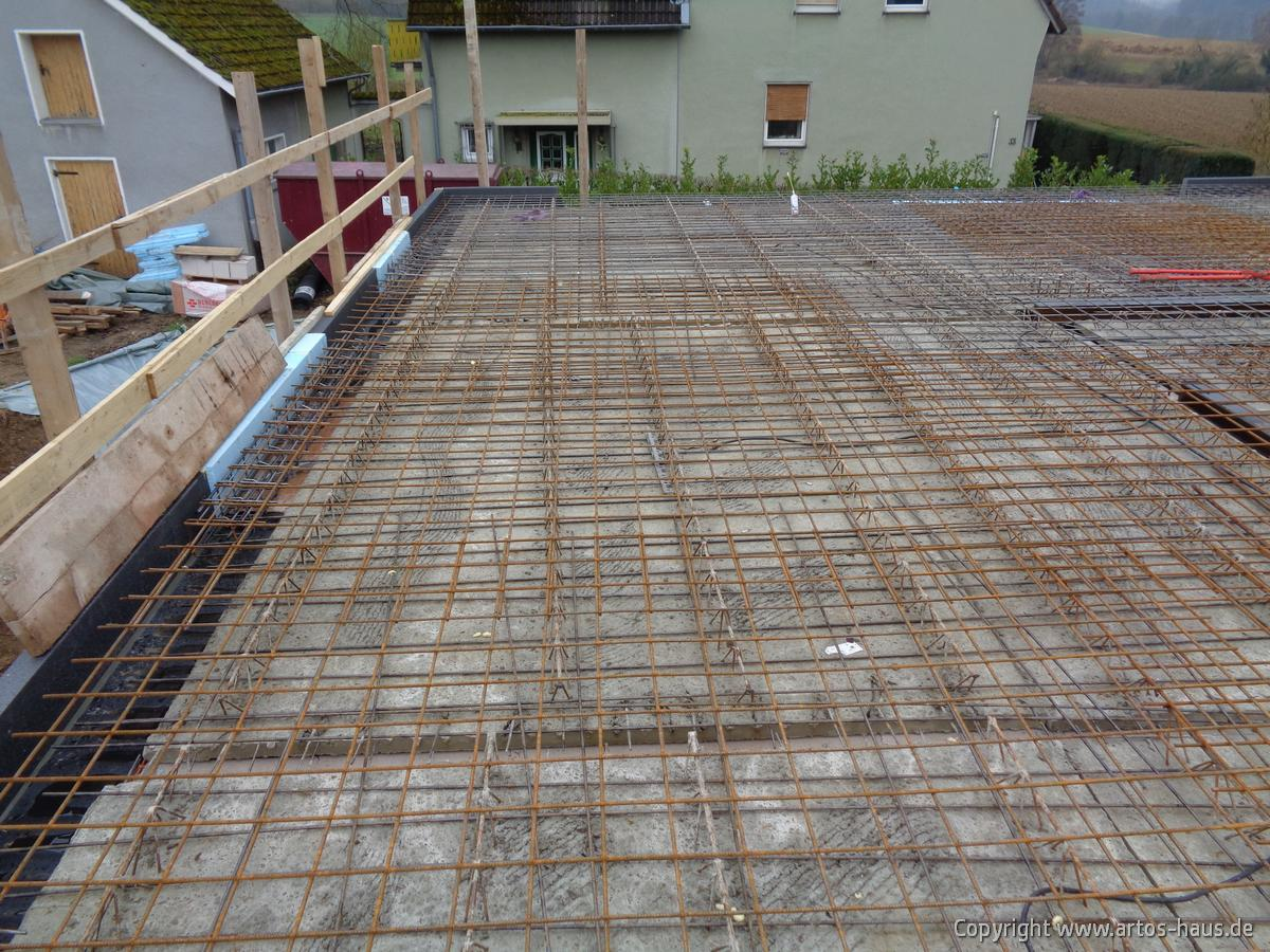 EG Decke Rohbau Bild 2