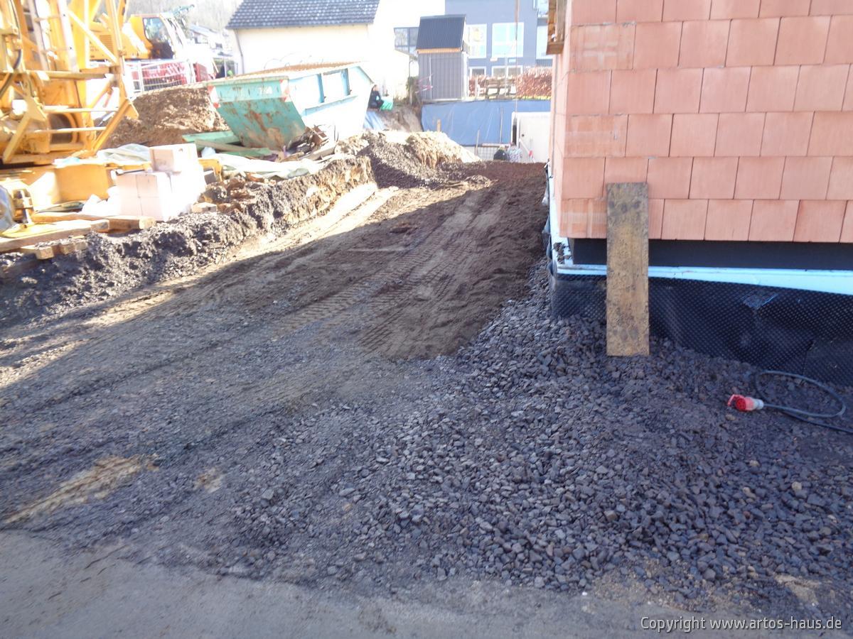Kellerverfüllung ARTOS Bauvorhaben BONN Bild 3