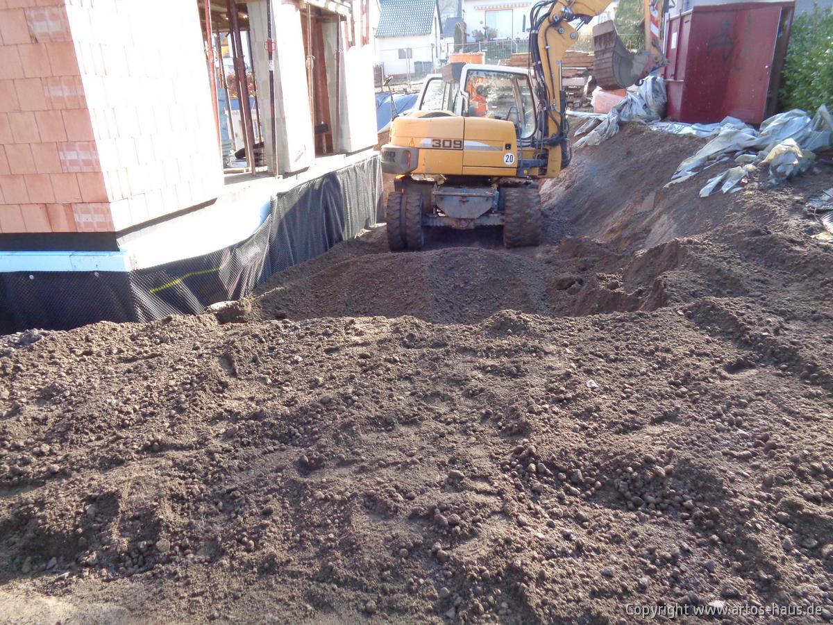 Kellerverfüllung ARTOS Bauvorhaben BONN Bild 4