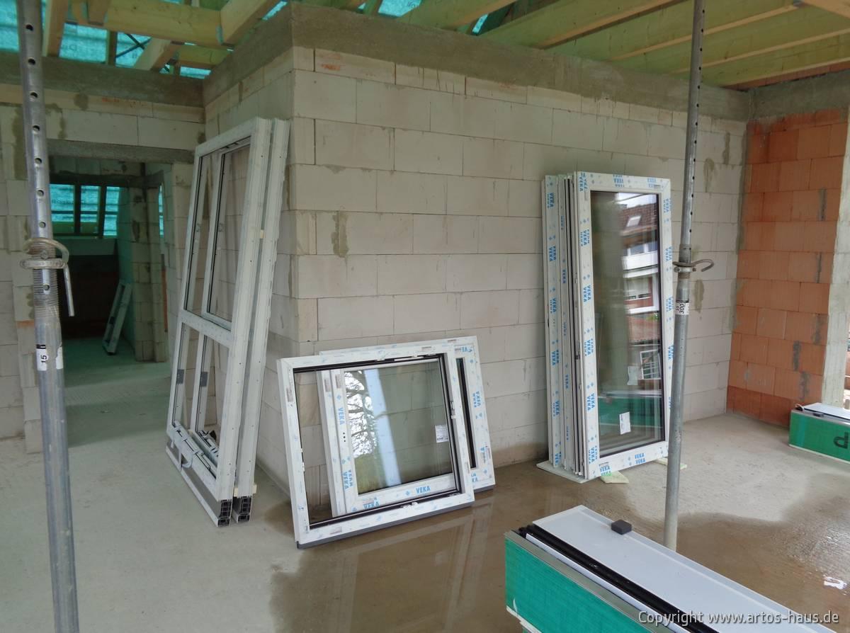 Einbau Fenster ARTOS HAUS Bild 1