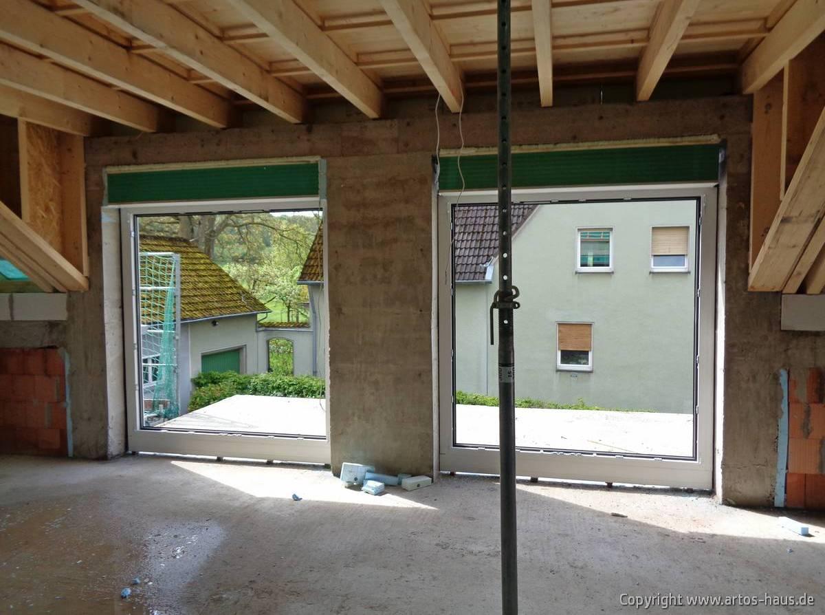 Einbau Fenster ARTOS HAUS Bild ´2