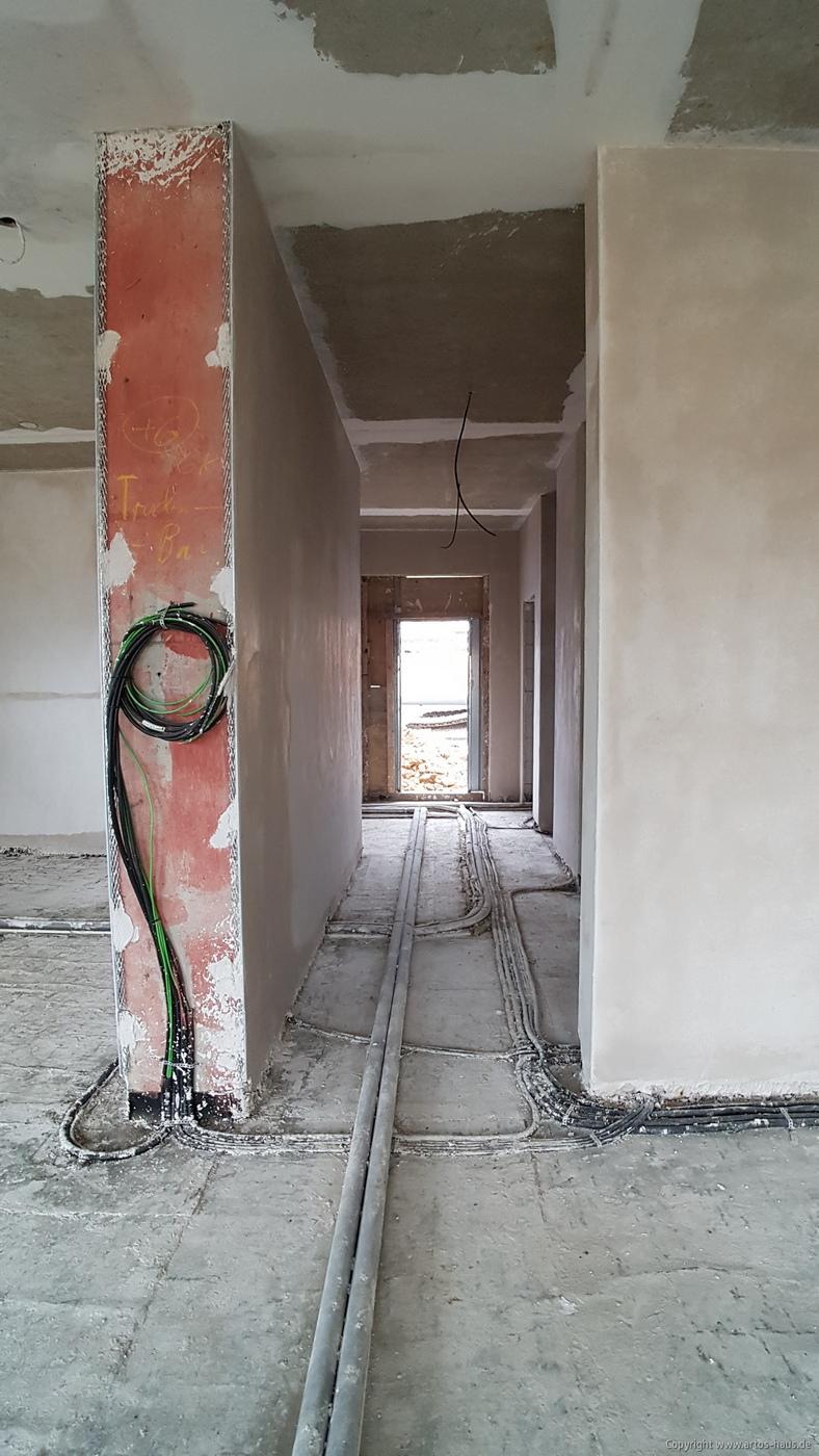 Putzarbeiten innen ARTOS HAUS März 2021 Bild 2