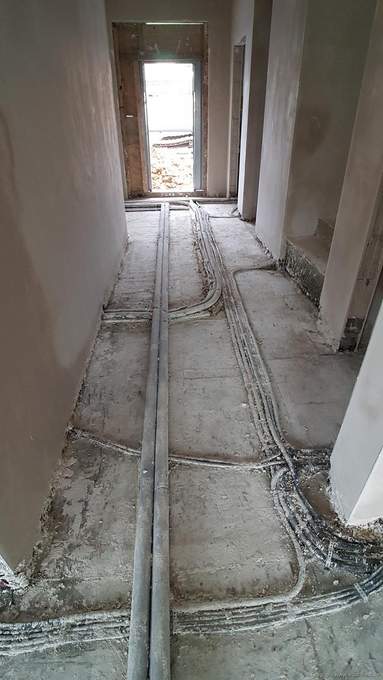 Putzarbeiten innen ARTOS HAUS März 2021 Bild 1