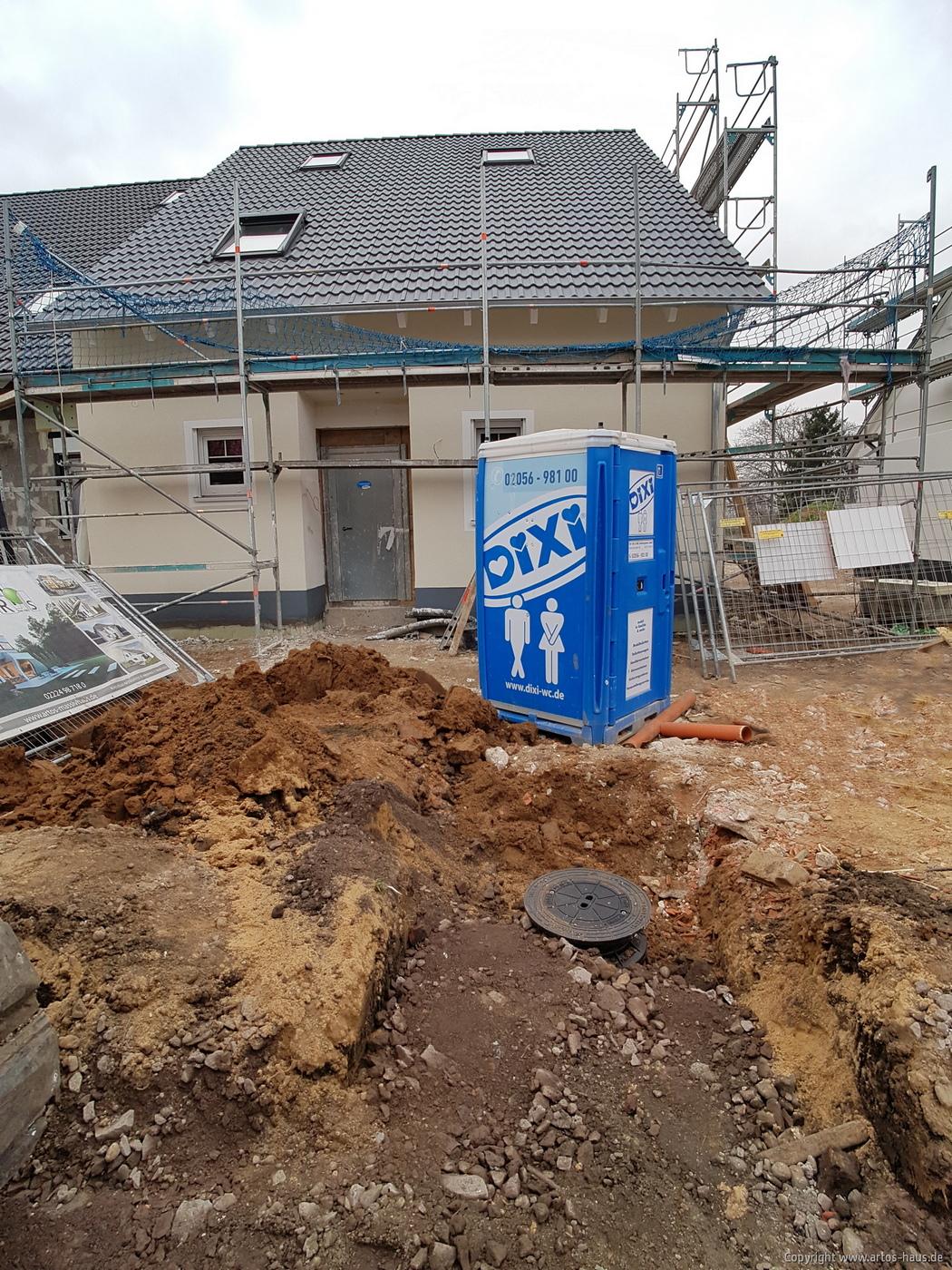 Luftbild der ARTOS HAUS Baustelle in Hürth am 8.3.2021 Bild 5