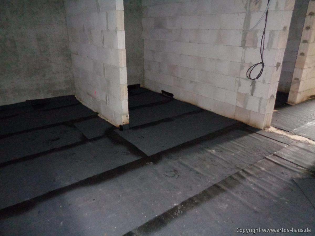 Abdichtung Bodenplatte