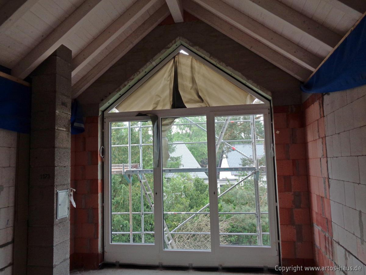 Fenstereinbau. ARTOS HAUS Bauvorhaben Bonn, Juni 2021, Bild 3