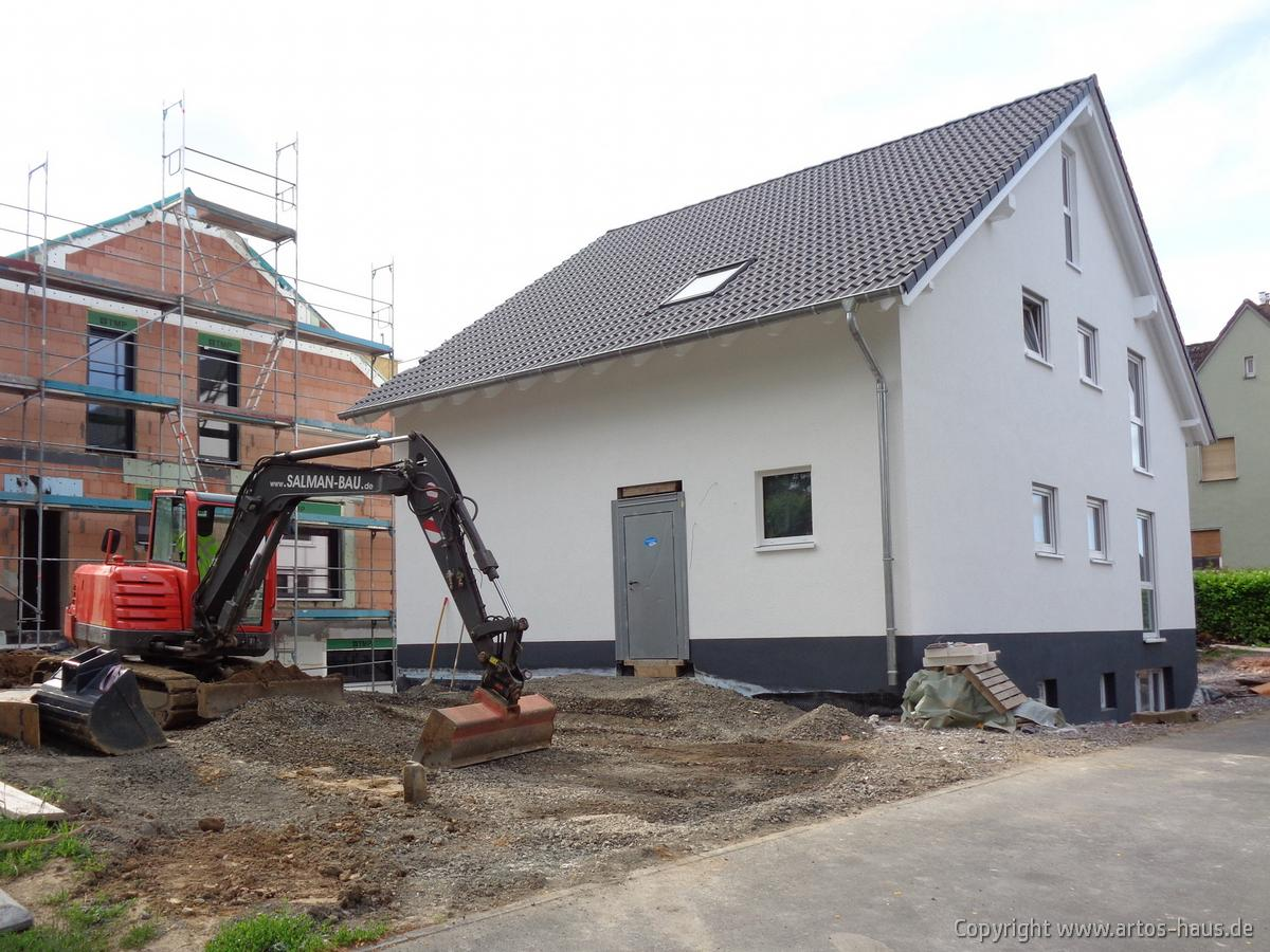 Ansicht Aussenputz ARTOS HAUS Bauvorhaben in BONN Bild 2
