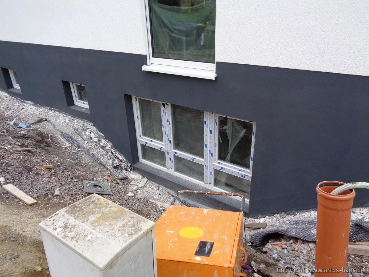Ansicht Aussenputz ARTOS HAUS Bauvorhaben in BONN Bild 4