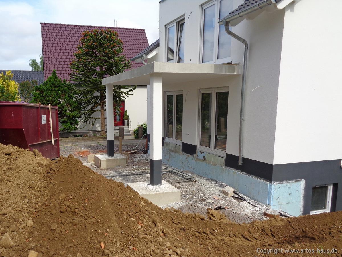 Ansicht Aussenputz ARTOS HAUS Bauvorhaben in BONN Bild 5